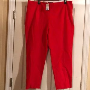 NWT!!! LANDS'END red pants